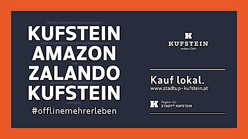 Standortmarketing Kufstein startet Impulsprogramm für die lokale Wirtschaft
