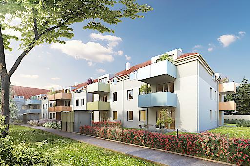 Wohnhausanlage Traiskirchen, Bahngasse 16