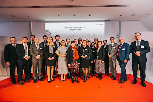 Die Preisträgerinnen und Preisträger des Living Standards Award 2020