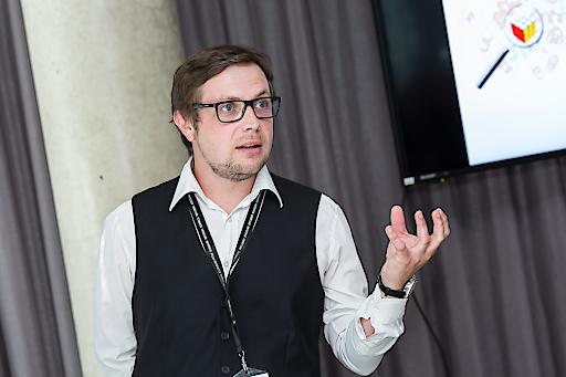 Innophore-Geschäftsführer Dr. Christian Gruber
