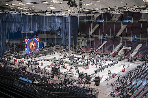 Holiday on Ice SHOWTIME: Vorbereitungen für die Österreich-Premiere in der Wiener Stadthalle