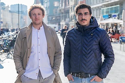 v.l.n.r.: Die beiden Gründer der RateBoard GmbH: Matthias Trenkwalder und Simon Falkensteiner