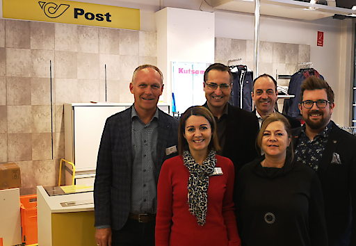 Beteiligte an Postpartnerschaft in Schwertberg