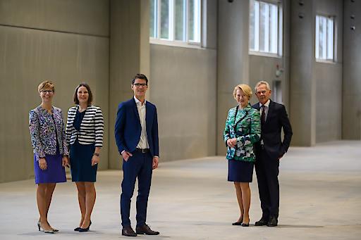 von links: Mag. (FH) Martina Faukal, BM DI Cornelia Wieder, DI Georg Wieder, Ing. Maria Wieder, BM Ing. Josef Wieder