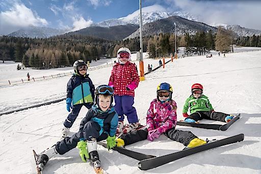 SSB, Winter, Zauberteppich, Gruppe, skifahren, Schnee