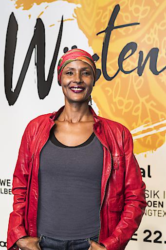 """Pressekonferenz zur Weltpremiere des Musicals """"Wüstenblume"""" in St.Gallen"""