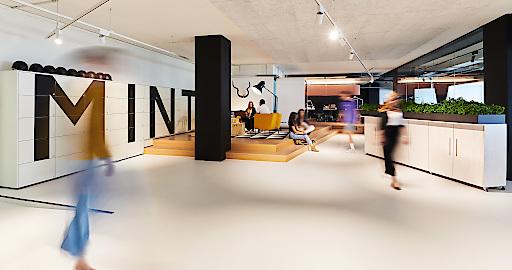 In unmittelbarer Nachbarschaft von ATP Zürich: die nutzerorientierte Arbeitswelt von Mint Architecture.