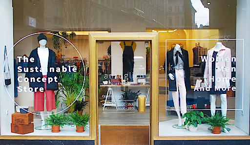 Vorderansicht Sustainable Concept Store