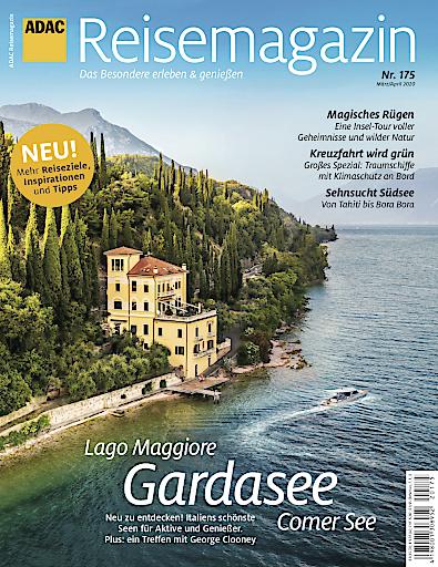 """ADAC Reisemagazin. Weiterer Text über ots und www.presseportal.de/nr/22036 / Die Verwendung dieses Bildes ist für redaktionelle Zwecke honorarfrei. Veröffentlichung bitte unter Quellenangabe: """"obs/Motor Presse Stuttgart"""""""