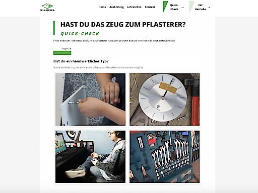 WWW.PFLASTERER-LEHRLING.AT – NEUER AUFTRITT IM INTERNET