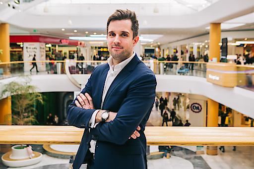 Tomáš Urbanovský übernimmt ab sofort das Center Management von Österreichs größtem Einkaufszentrum