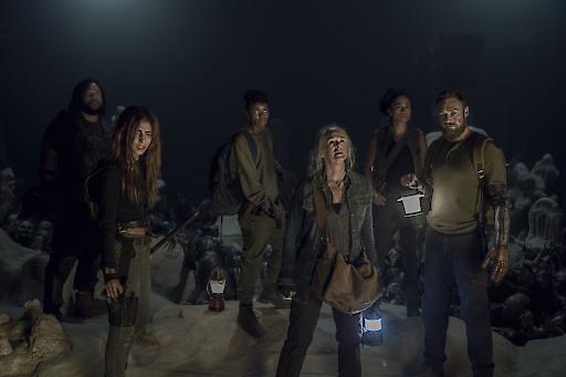 """Der Kampf ums Überleben geht weiter / """"The Walking Dead"""" (© 2019 AMC Film Holdings LLC. All Rights Reserved.) / Weiterer Text über ots und www.presseportal.de/nr/127888 / Die Verwendung dieses Bildes ist für redaktionelle Zwecke honorarfrei. Veröffentlichung bitte unter Quellenangabe: """"obs/FOX"""""""