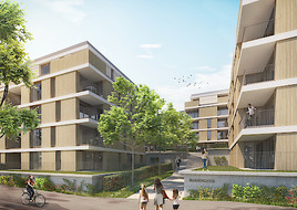 Immobilien Funk betreut exklusiv größtes Wohnbauprojekt im Zentrum von Eisenstadt.