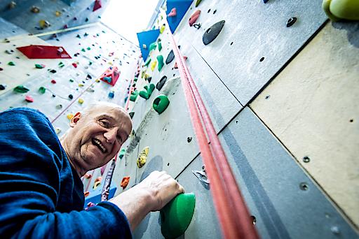"""Andreas Trubel (64) ist nicht nur Testimonial der neuen Volkshilfe Kampagne """"Gut leben trotz Demenz"""", er lebt auch seit 2 Jahren mit der Diagnose."""