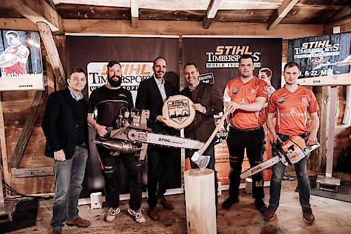 Offizielle Kick-off Pressekonferenz STIHL TIMBERSPORTS® World Trophy 2020