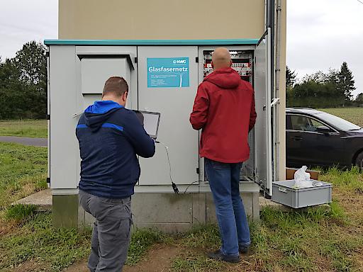 Konfiguration der Switches beim Breitbandverteiler
