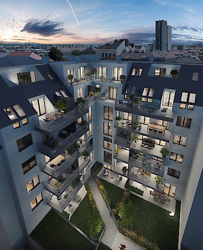 Hugogasse 8 Innenhof