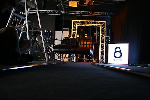 Okto-Studiosetting