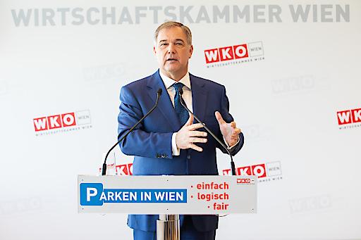 Walter Ruck, Präsident der Wirtschaftskammer Wien