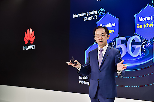 Ryan Ding, Executive Director of the Board und Präsident der Huawei Carrier Business Group