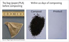 Praxistest: Kompostierbare Kunststoffe zersetzen sich bei der industriellen Kompostierung in weniger als 22 Tagen (FOTO)