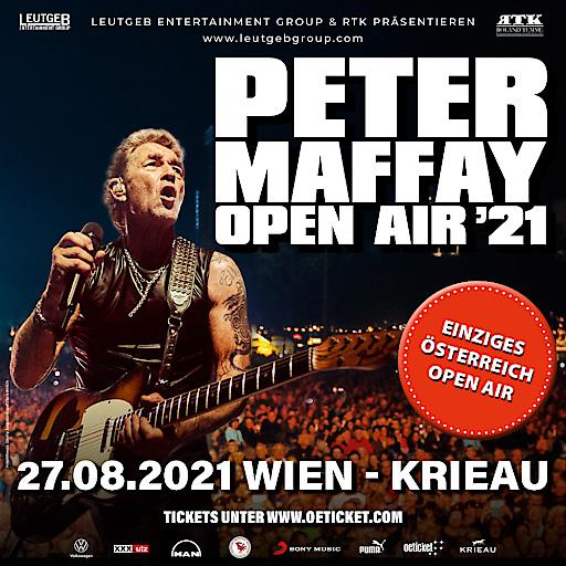 Peter Maffay OPEN AIR '21 - Einziges Österreich Konzert - 27.08.2021 Krieau Wien