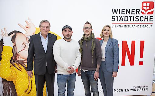 """""""Oft host a Pech"""" – aber zum Glück gibt's die Wiener Städtische!"""
