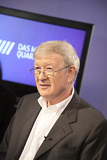 Armin Thurnher, langjähriger Vorstand und nunmehriger Ehrenvorstand des Vereins zur Gründung und zum Betrieb Offener Fernsehkanäle Wien