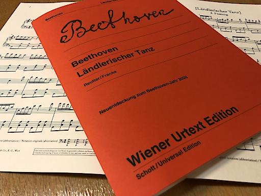 """Erste Ausgabe der Neuentdeckung """"Ländlerischer Tanz"""""""
