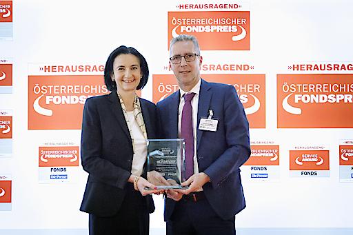 FONDS professionell Service-Award 2020 für die DONAU