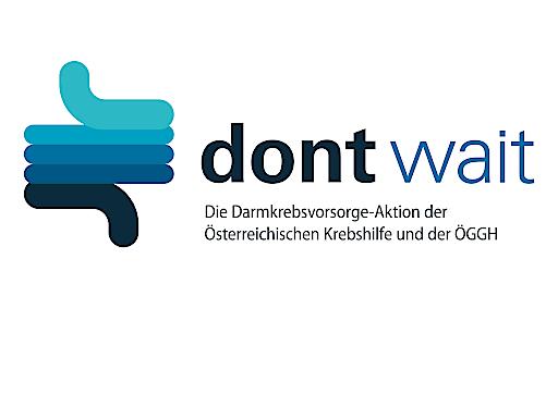 "Krebshilfe-Kampagnen-Logo ""Darmkrebsvorsorge"""