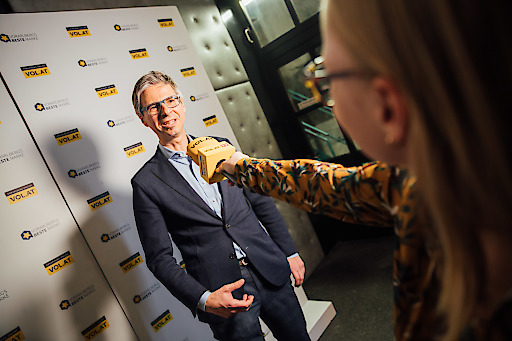 """Sutterlüty GF Alexander Kappaurer im Interview mit VOL.AT zur Auszeichnung als """"Beste Marke"""" 2019."""