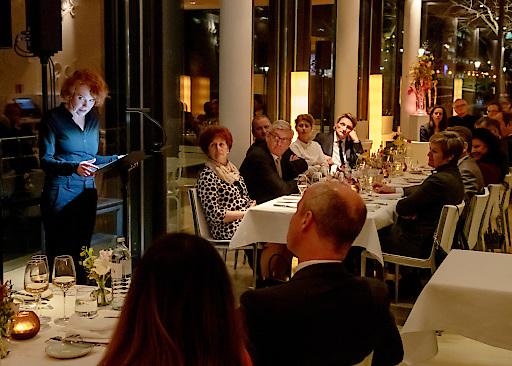 Burgschauspielerin Stefanie Dvorak trug einen Text von Barbara Frischmuth vor.