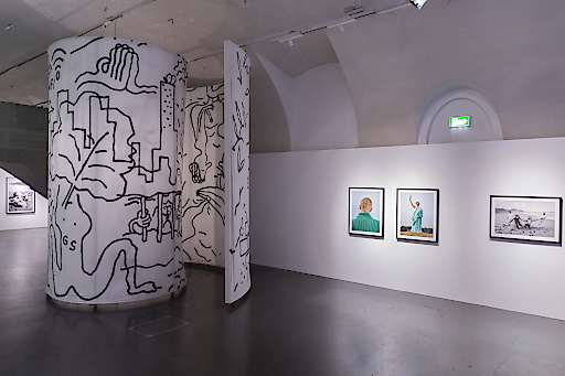 Ausstellungsansicht Approximation by Bilderbuch