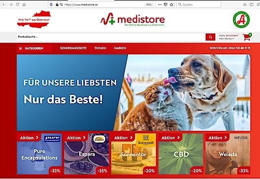 medistore.at, eine österreichische Online-Apotheke, wird durch Standesregeln gegenüber ausländischen Apotheken diskriminiert.