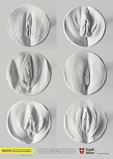 """Plakat aus dem Projekt """"Viva la Vulva"""" Credit: Museum für Verhütung und Schwangerschaftsabbruch (MUVS)"""