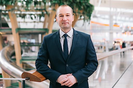 Neuer Center Manager des Donau Zentrum