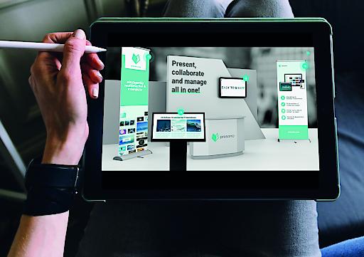 Linzer Start-up presono reagiert auf den Corona-Crash und unterstützt Unternehmen mittels digitaler, interaktiver Messe-Präsentationen im Kampf gegen Umsatzeinbrüche