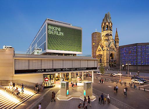 """CityTrees am BIKINI Berlin / Weltpremiere in Berlin: Green City Solutions launcht den ersten serienreifen CityTree / Weiterer Text über ots und www.presseportal.de/nr/142367 / Die Verwendung dieses Bildes ist für redaktionelle Zwecke honorarfrei. Veröffentlichung bitte unter Quellenangabe: """"obs/Green City Solutions"""""""