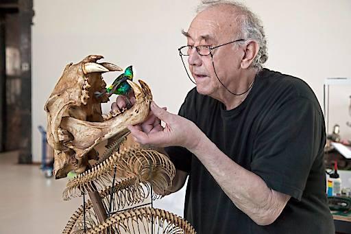 Daniel Spoerri im Naturhistorischen Museum Wien