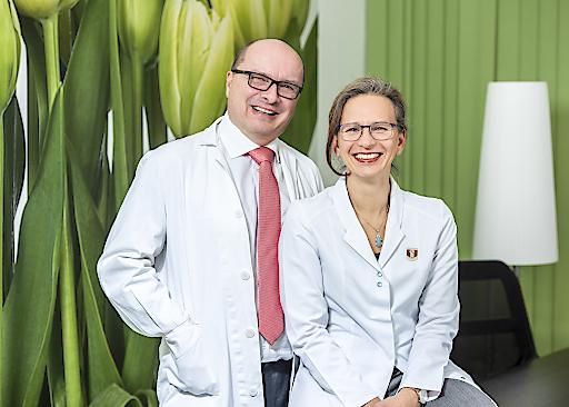 Präsident Mag. Thomas Veitschegger und Vizepräsidentin Mag. Monika Aichberger