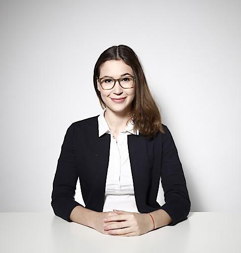 Katharina Andratsch, Produktmanagerin für SAPIRO