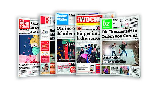 Die Wochenzeitungen der Regionalmedien Austria.