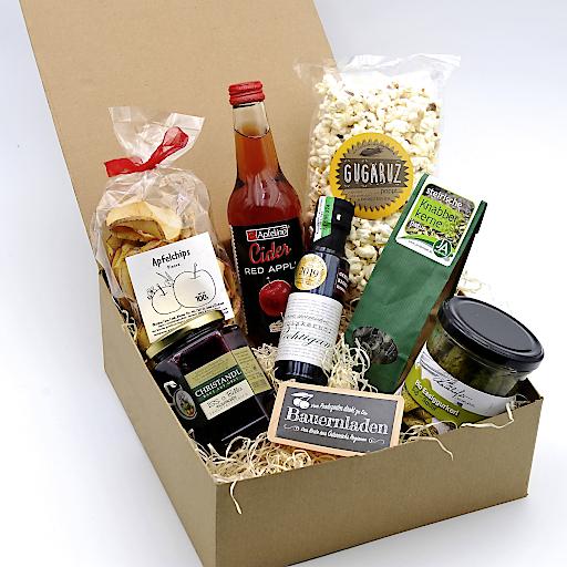 Produkte von bauernladen.at als Set bzw. in Geschenkbox