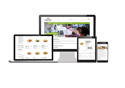Gourmet-Qualität für daheim. Gustieren, bestellen und bargeldlos bezahlen können Privatpersonen bequem über den Webshop www.gourmet-lieferservice.at.
