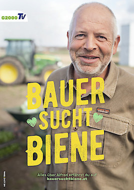 """""""Bauer sucht Biene"""" - HeldInnen der Landwirtschaft starten mit GLOBAL 2000 Kampagne fürs Leben."""