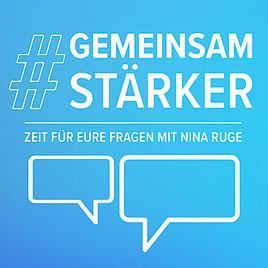 #GemeinsamStärker: Online-Forum mit Nina Ruge nimmt sich Zeit für die großen und kleinen Fragen im neuen Alltag