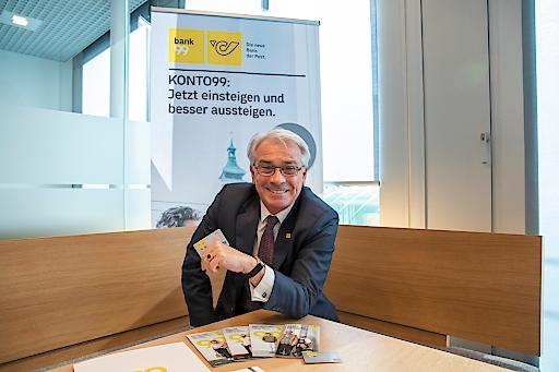 Post CEO Georg Poelzl.