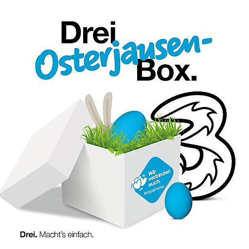Mit Drei Osterjausen-Boxen in Zeiten von #stayathome virtuell gemeinsam Ostern feiern.