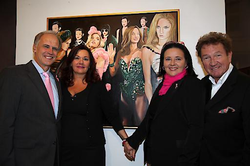 Pink Ribbon Aktion 2013, Versteigerung durch Martin Suppan